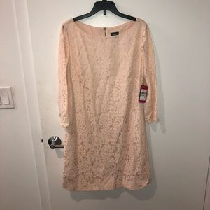 Vince Camino lace long sleeve dress